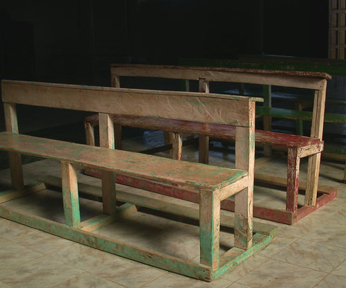 the old pews