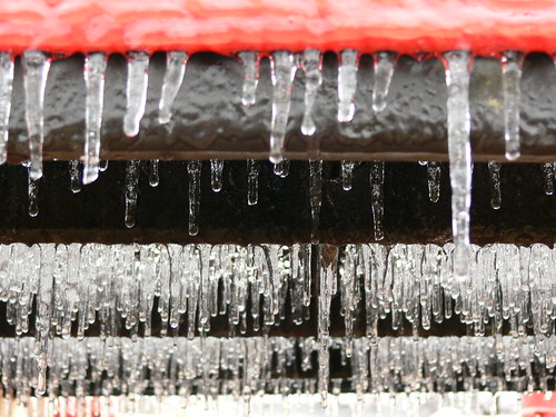 Rows of Icicles   by anikarenina