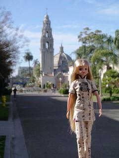 Jenny in Balboa Park San Diego