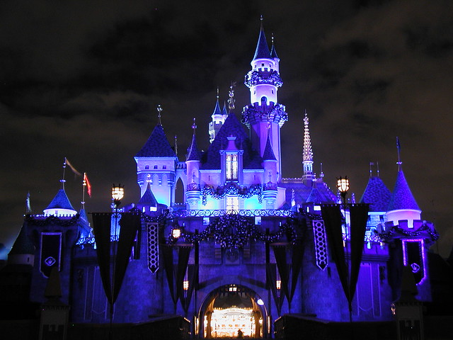 Sleeping Beauty Castle, Disneyland Resort in CA