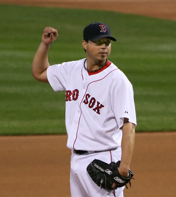 don't interrupt my pitching routine, don't you know I'm Josh Beckett?