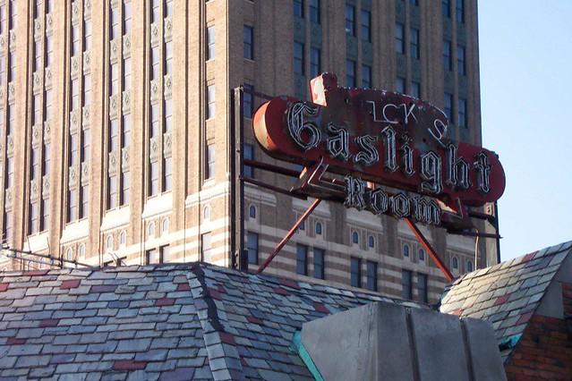 Nick's Gaslight Room -Detroit Downtown ~ 2004