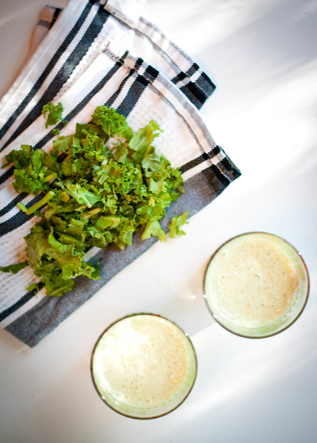 Kale & Banana Protein Shakes