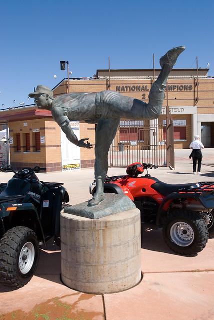 Bruce Hurst statue