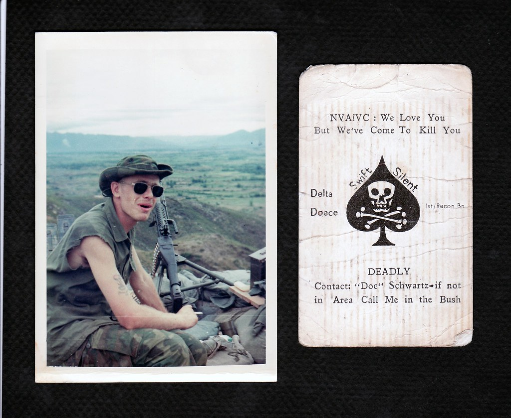 ME AND MY KILL CARD | Hill 119 Vietnam 1970 Well here i am s… | Flickr