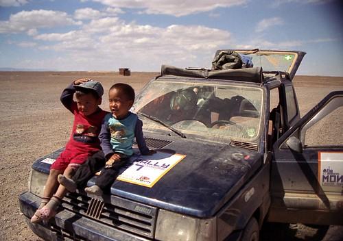 mongol kids   by [TheAsarya]