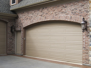 Garage Doors Long Panel Pebble Stone Color | by carywaynepeterson
