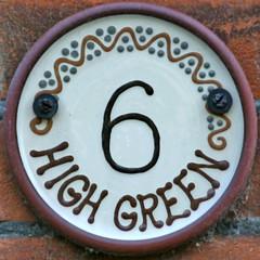 6 HIGH GREEN   by Leo Reynolds