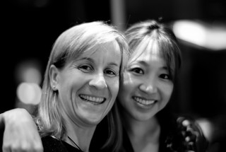 Ellen Levy and Peggy Liu   by Joi