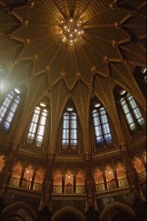 Országház Dome