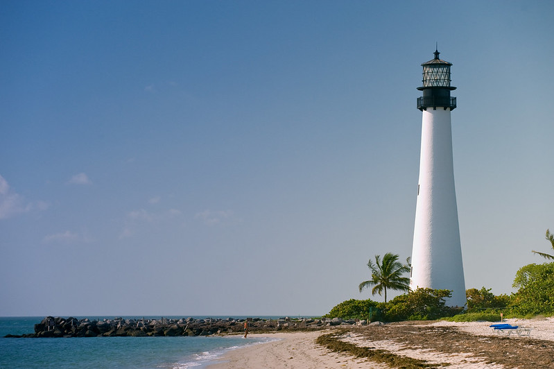 Historic Cape Forida Lighthouse/Key Biscayne