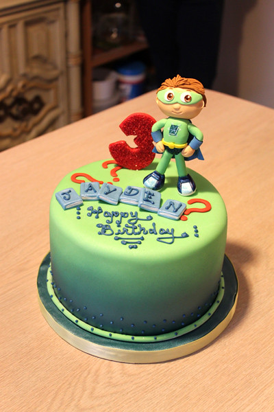 Fabulous Super Why Birthday Cake Super Why Themed 3Rd Birthday Cake Flickr Personalised Birthday Cards Paralily Jamesorg
