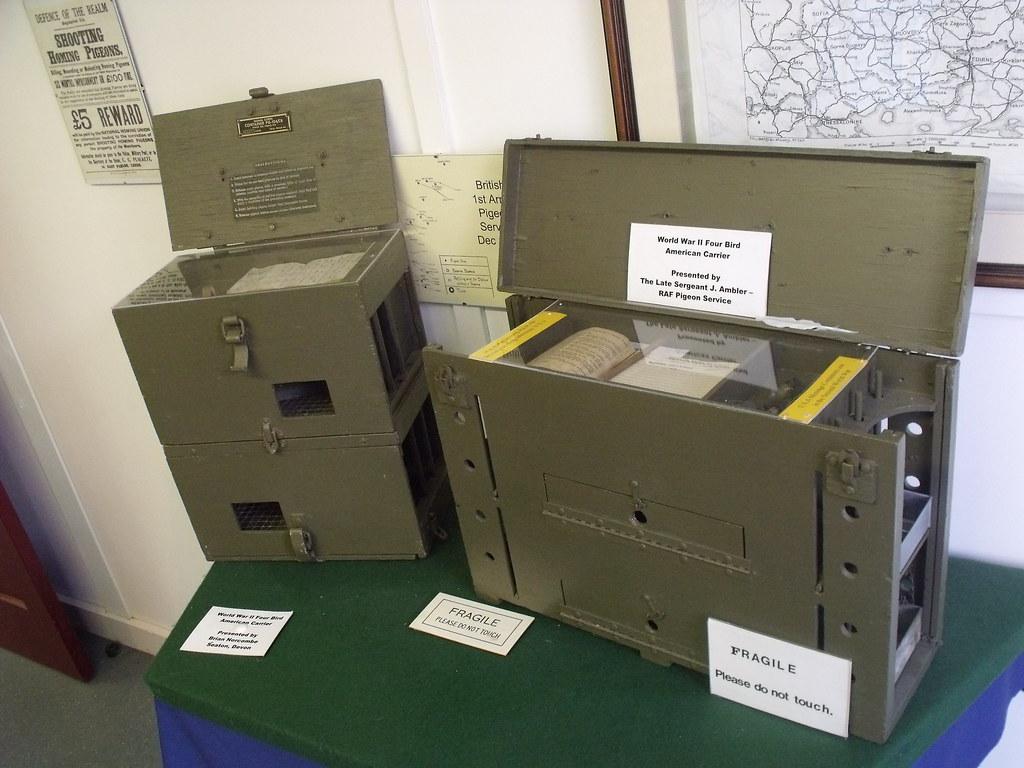 Bletchley Park - Hut 8 - Pigeons at War | Exhibitions inside… | Flickr
