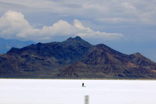 Utahs Bonneville Salt Flats UTAH-GREAT SALT DESERT O GRAN