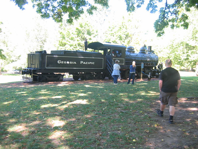 Avery Park Locomotive
