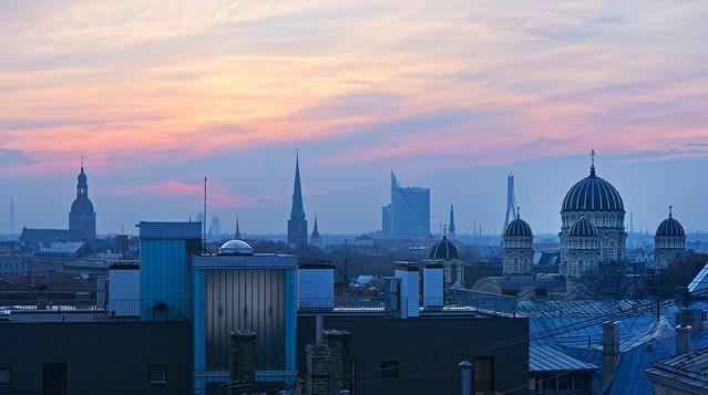 sunset (Riga)