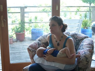 Torrie Breastfeeding