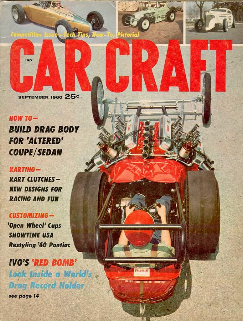 September 1960 | Car Craft Magazine, Sept 1960 | Insomnia