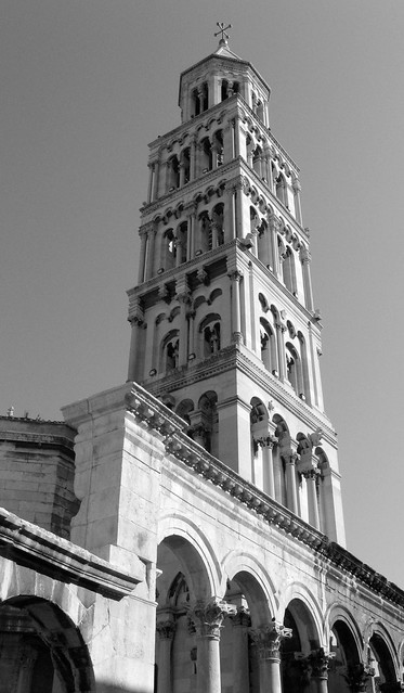 Steeple of St. Dominus from a different angle