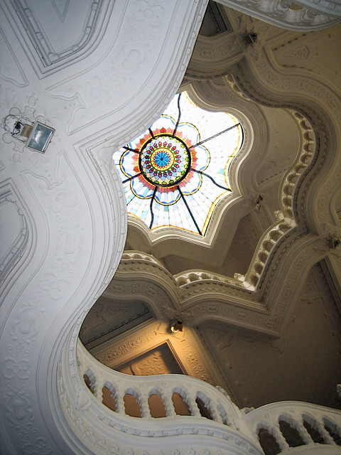 Ceiling in Budapest museum