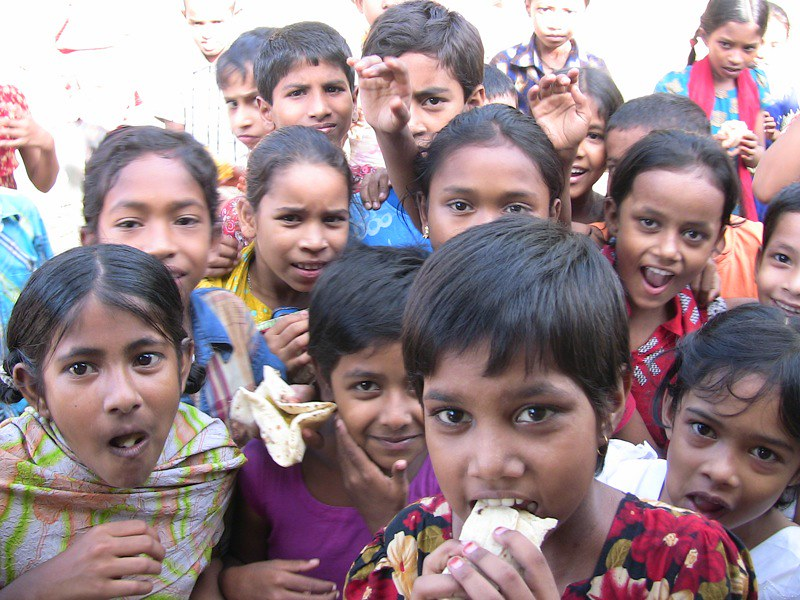 Free Food for the Poor | These are the many kids that stay o… | Flickr