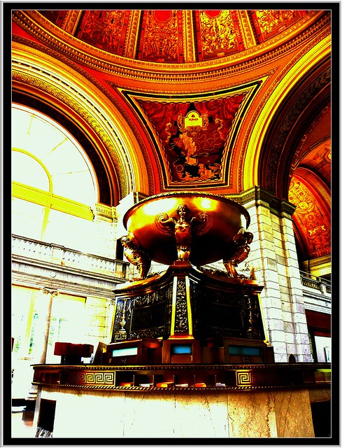 Buffalo Savings Bank ~ Gold Dome and M&T Center ~ Buffalo NY ~ Interior