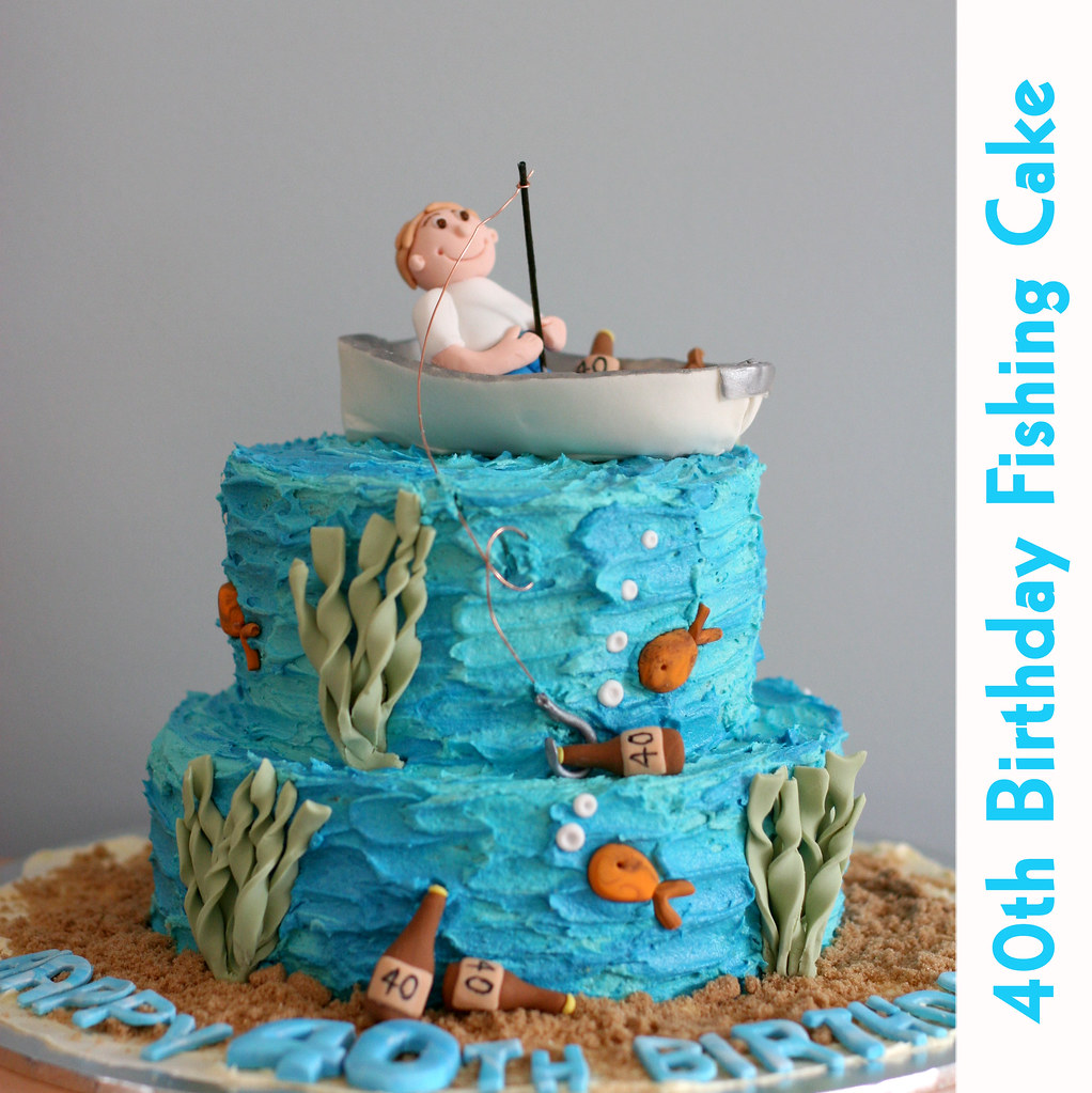 Remarkable Fishing Boat Cake My Customer Requested A Cake For Her Hus Flickr Birthday Cards Printable Trancafe Filternl