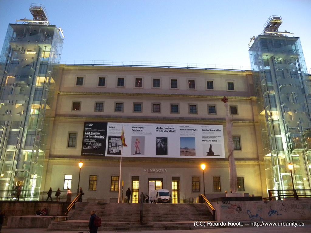 Museo Nacional Centro De Arte Reina Sofia Mncars Flickr