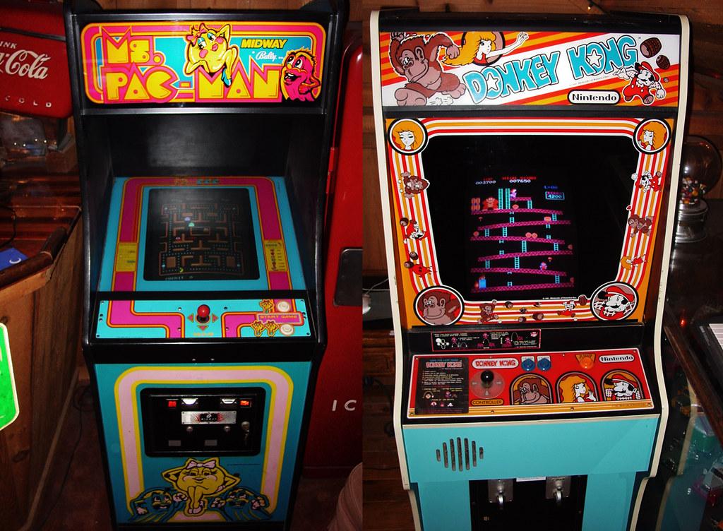 My Babies... Ms. Pac-Man & Donkey Kong