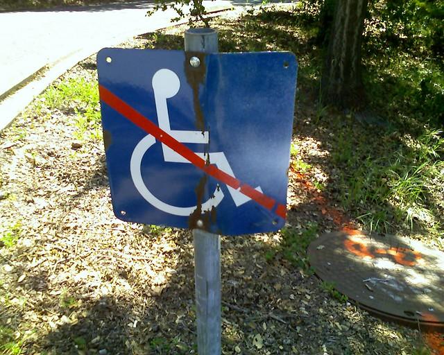No Wheelchairs