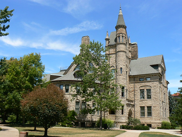 Peters Hall, Oberlin College campus