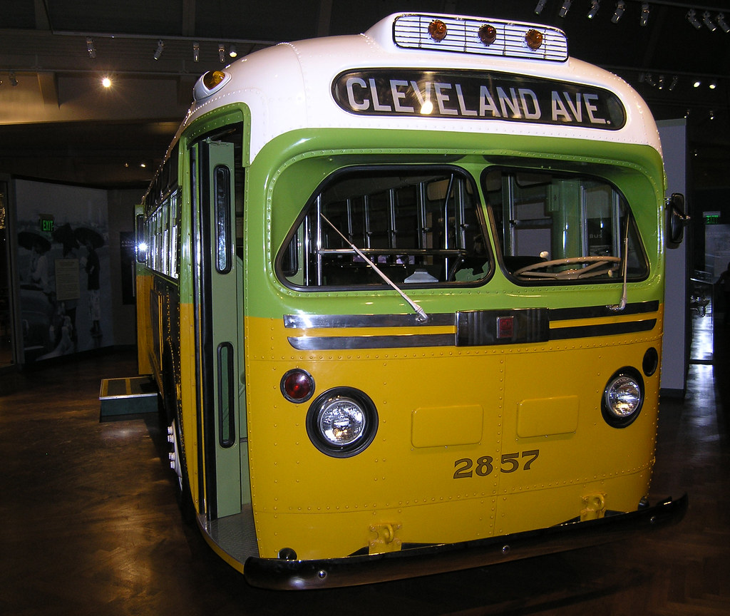 Rosa Parks Bus | This is the Montgomery Alabama bus that Ros