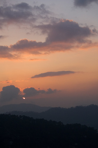 sunset india clouds landscape geotagged places uttaranchal sonapani