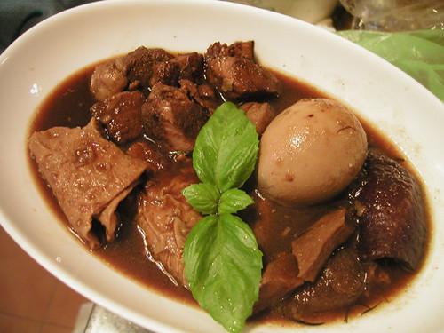 Lu Rou (pork stew with soy sauce)