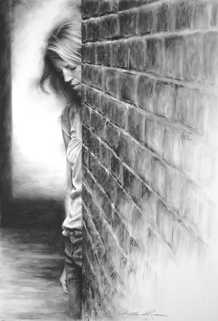 Bricks in the Wall - Charcoal