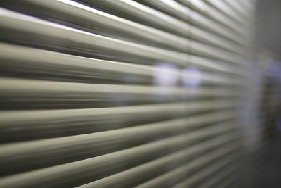 photo showing outdoor blinds