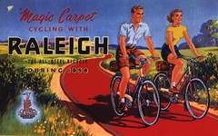 Vintage Raleigh Cycle Poster - Magic Carpet | by Paul Fillingham