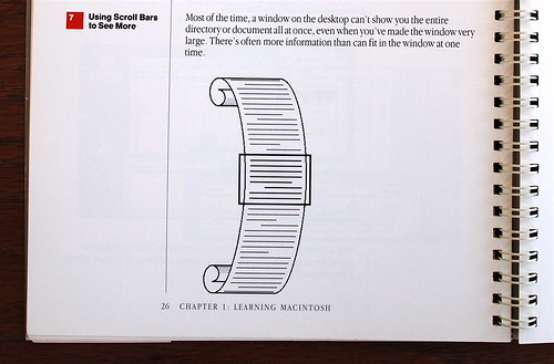 Macintosh User Manual - Scrolling | by peterme