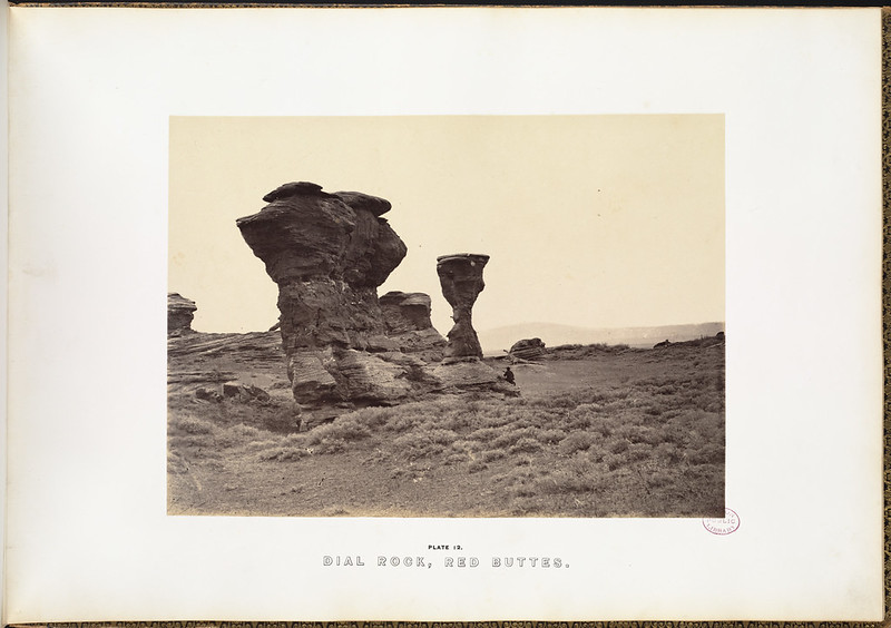 Dial Rock, Red Buttes.