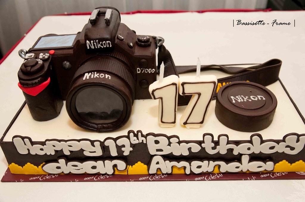 Strange Nikon D7000 Birthday Cake Gave This Cake To My Sister For Flickr Personalised Birthday Cards Vishlily Jamesorg
