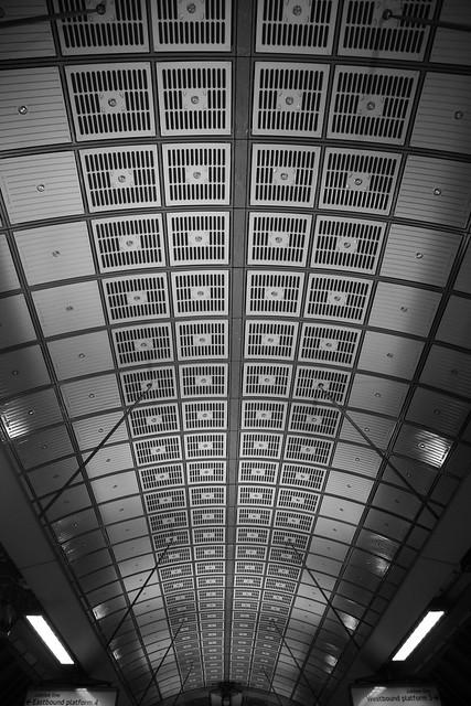Roof at London Bridge Underground Station