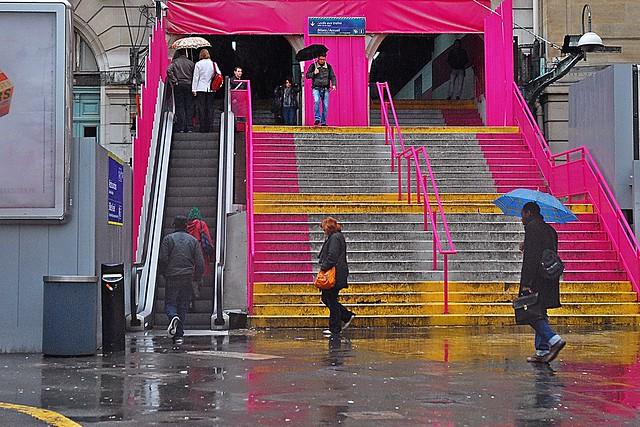 12 - 7 novembre 2010 Paris Gare Saint-Lazare Place du Havre