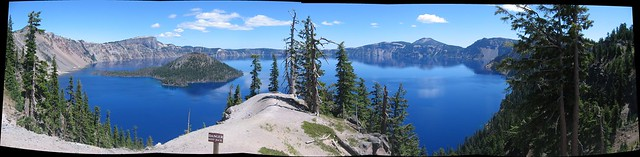Crater Lake Viewpoint 1