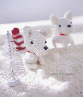 AMI AMI DOGS 2 BY MITSUKI HOSHI - JAPANESE AMIGURUMI CROCHET ... | 319x274