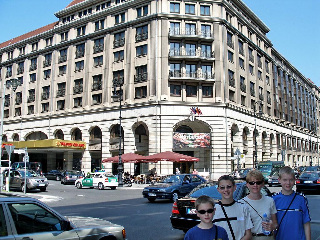 Westin Grand Hotel The Westin Grand Hotel In East Berlin Flickr