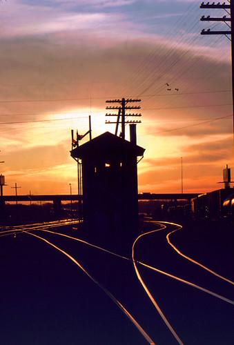 railroad sunset birmingham alabama trains rails bhamref bham perfectsunsetssunrisesandskys