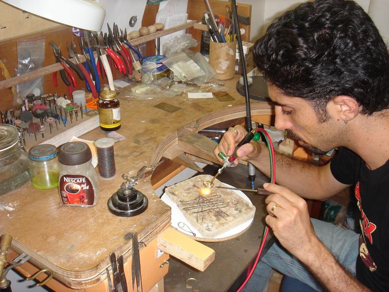 In my workshop