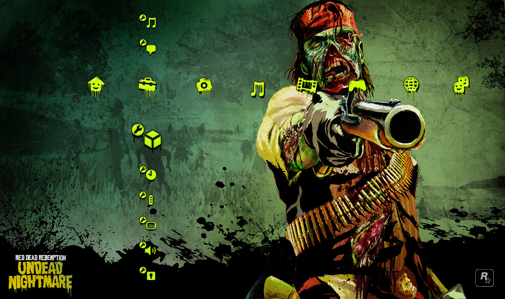 Red Dead Redemption Undead Nightmare PS3 Theme | available t