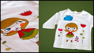 Camiseta LaiaPrimavera // SpringLaia T-shirt | by Beatriz Rojas de la Rosa [illustration]