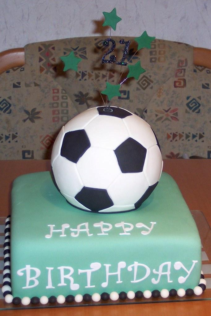 Fussball Torte Soccer Cake Fondant Cake Soccer Cake Tor